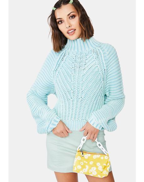 Sweetheart Knit Sweater