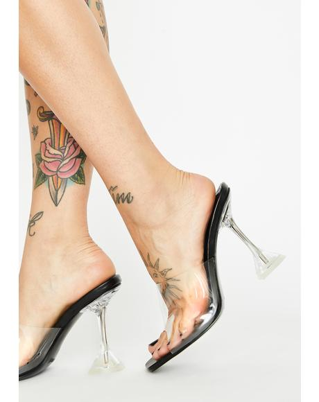 Ur Clearly Into Me PVC Heels