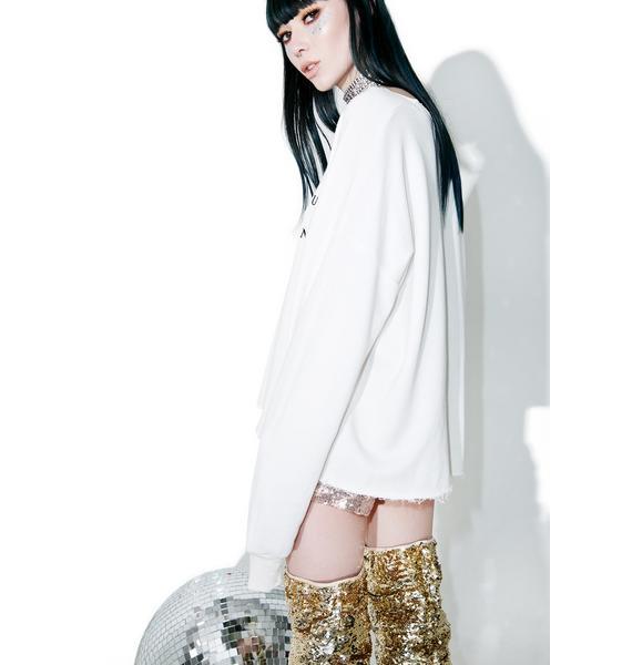 Wildfox Couture No Resolution 5AM Sweatshirt