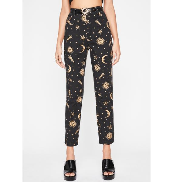 HOROSCOPEZ Walk The Moon Denim Jeans