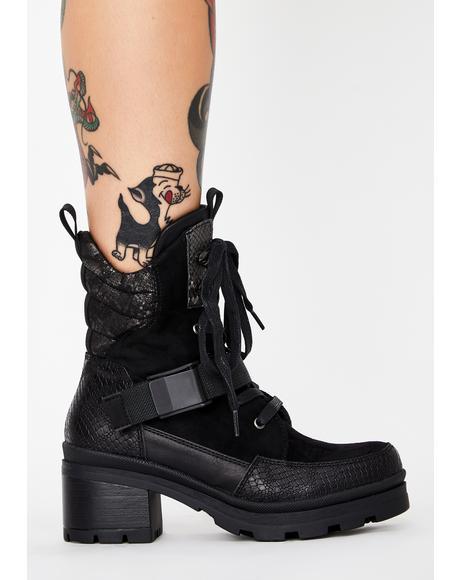 Cute Recruit Combat Boots
