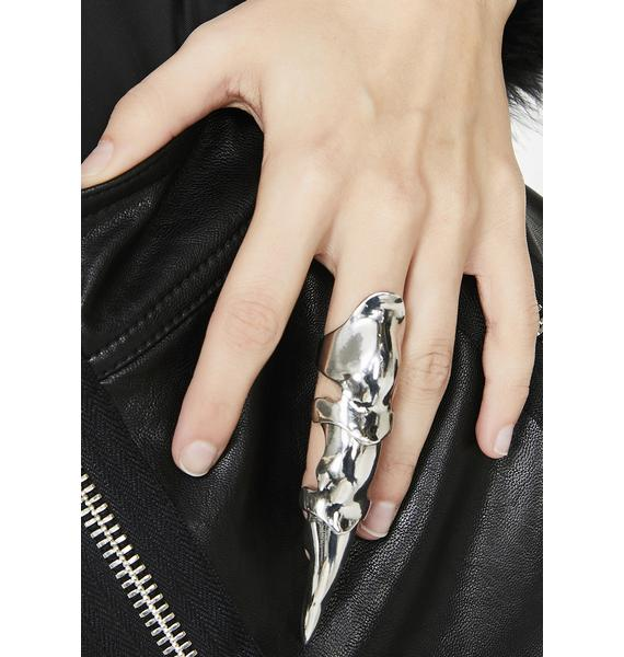 Claws Out Armor Ring