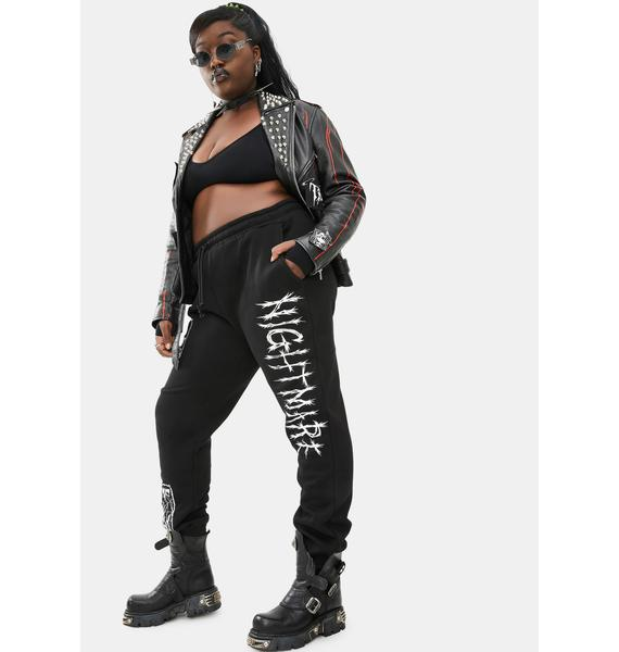 Dolls Kill Some Spooks N' Scares Graphic Joggers