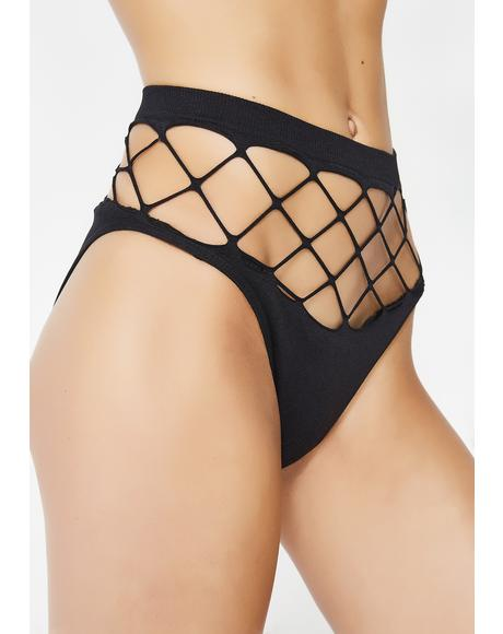 Holy Roller Fishnet Panties