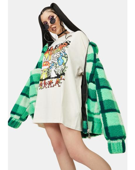 Bless This Mess Graphic Long Sleeve Tee