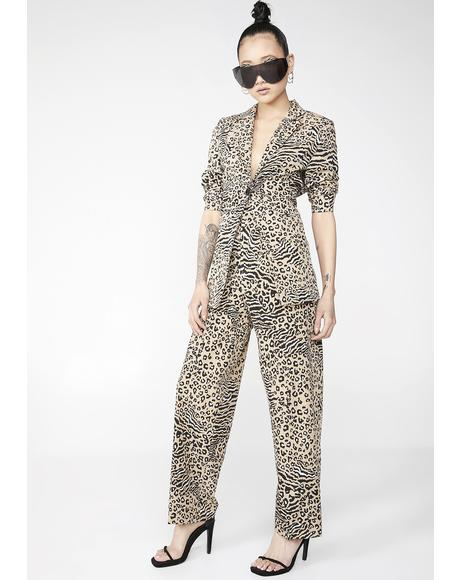 Animal Suit Trousers