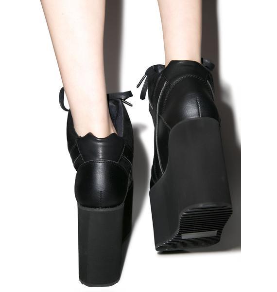Y.R.U. Qozmo Hi Platform Sneakers