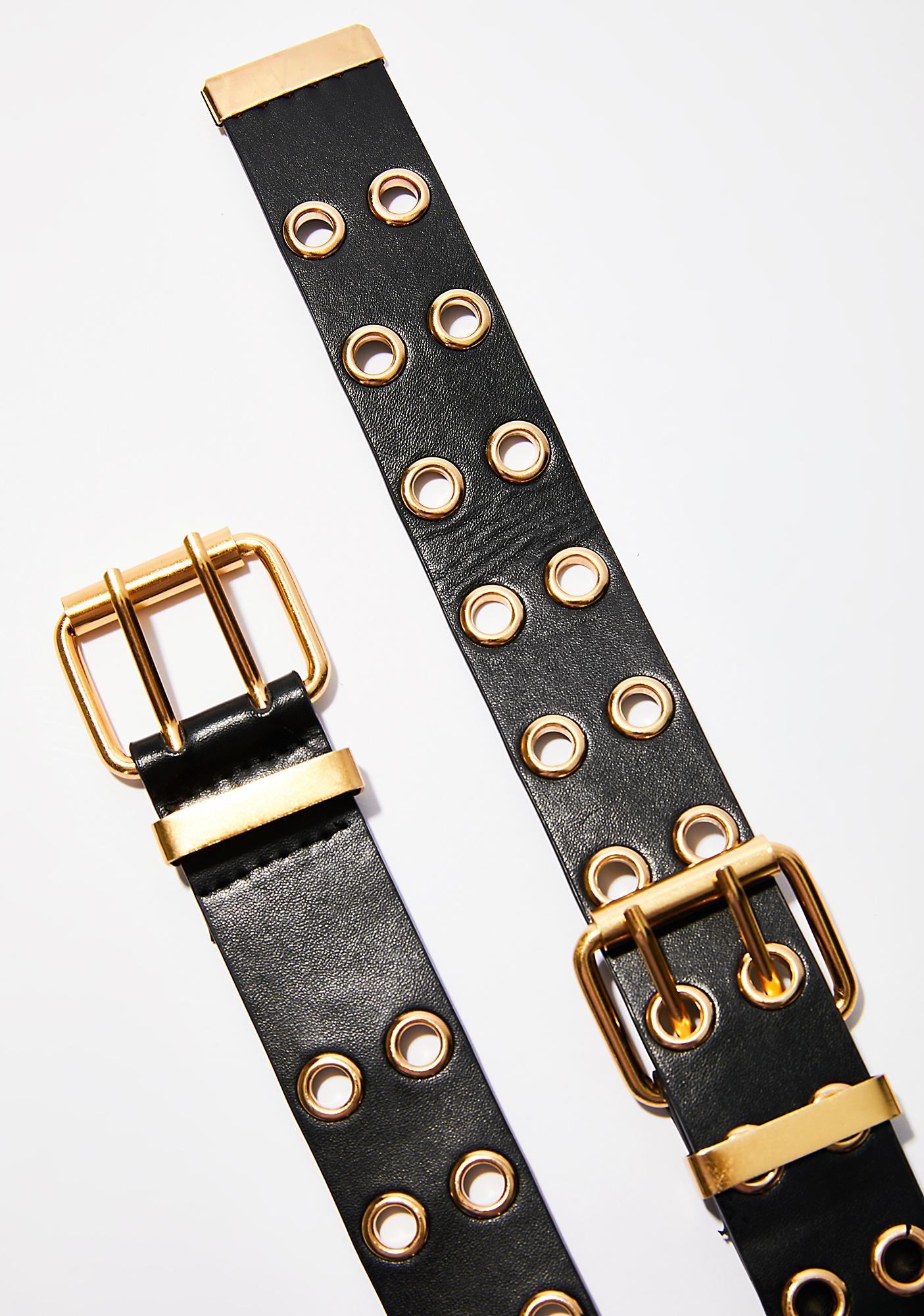 Golden Truth Is Grommet Belt