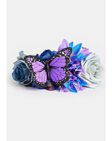 Gem Garden Magic Flower Headband