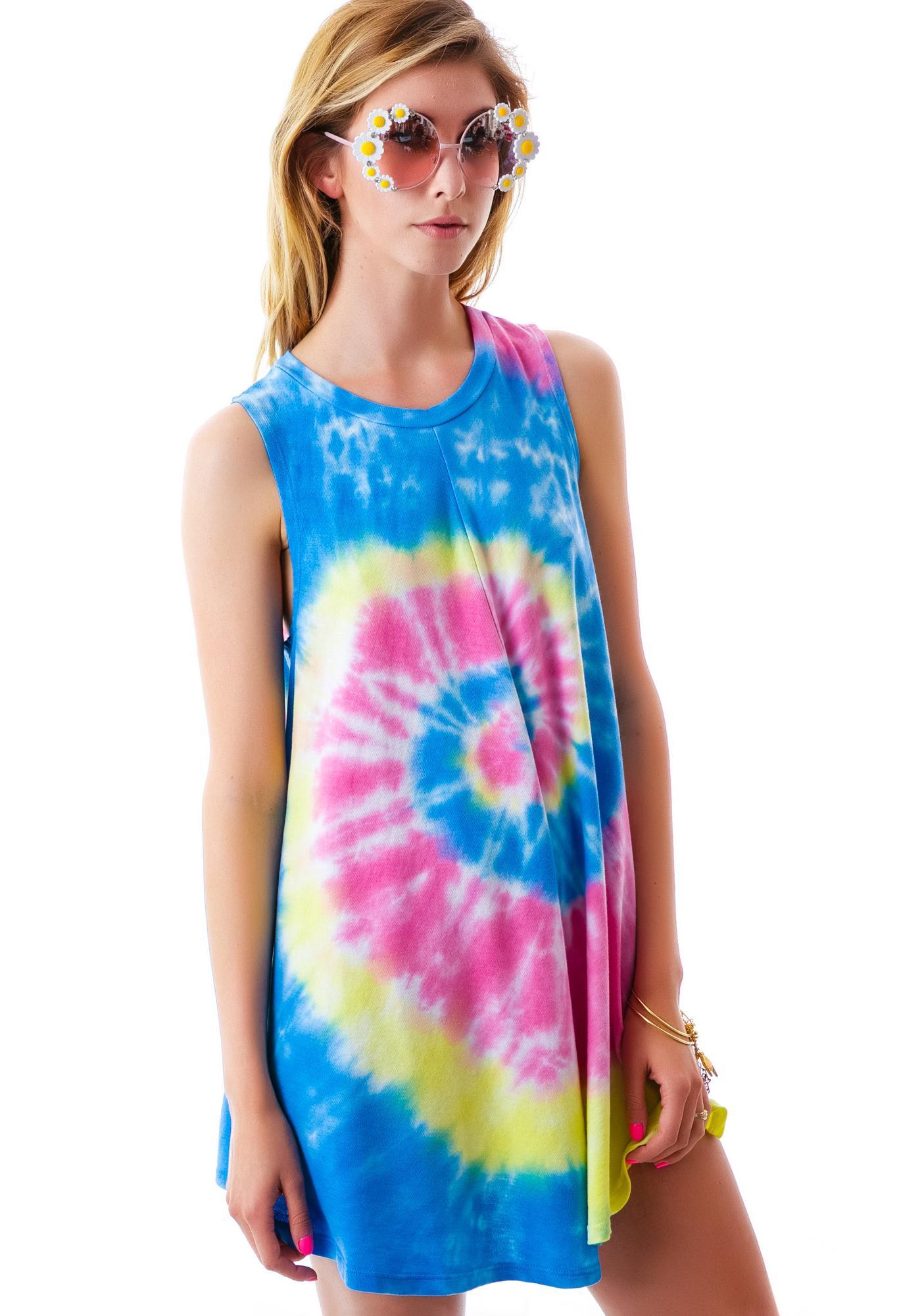 To Dye For Beach Tunic Dress
