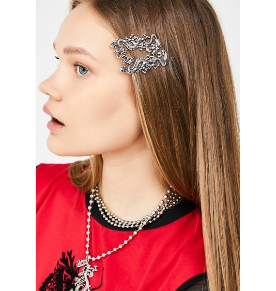 Dragon Slayer Hair Pins