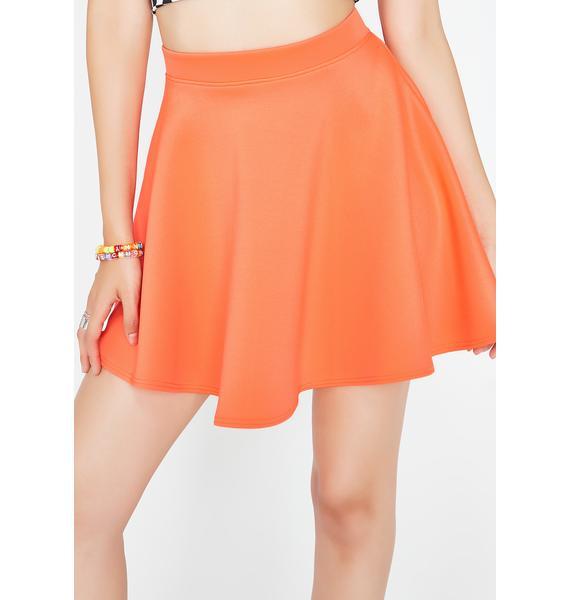 Spin Sugar Skater Skirt