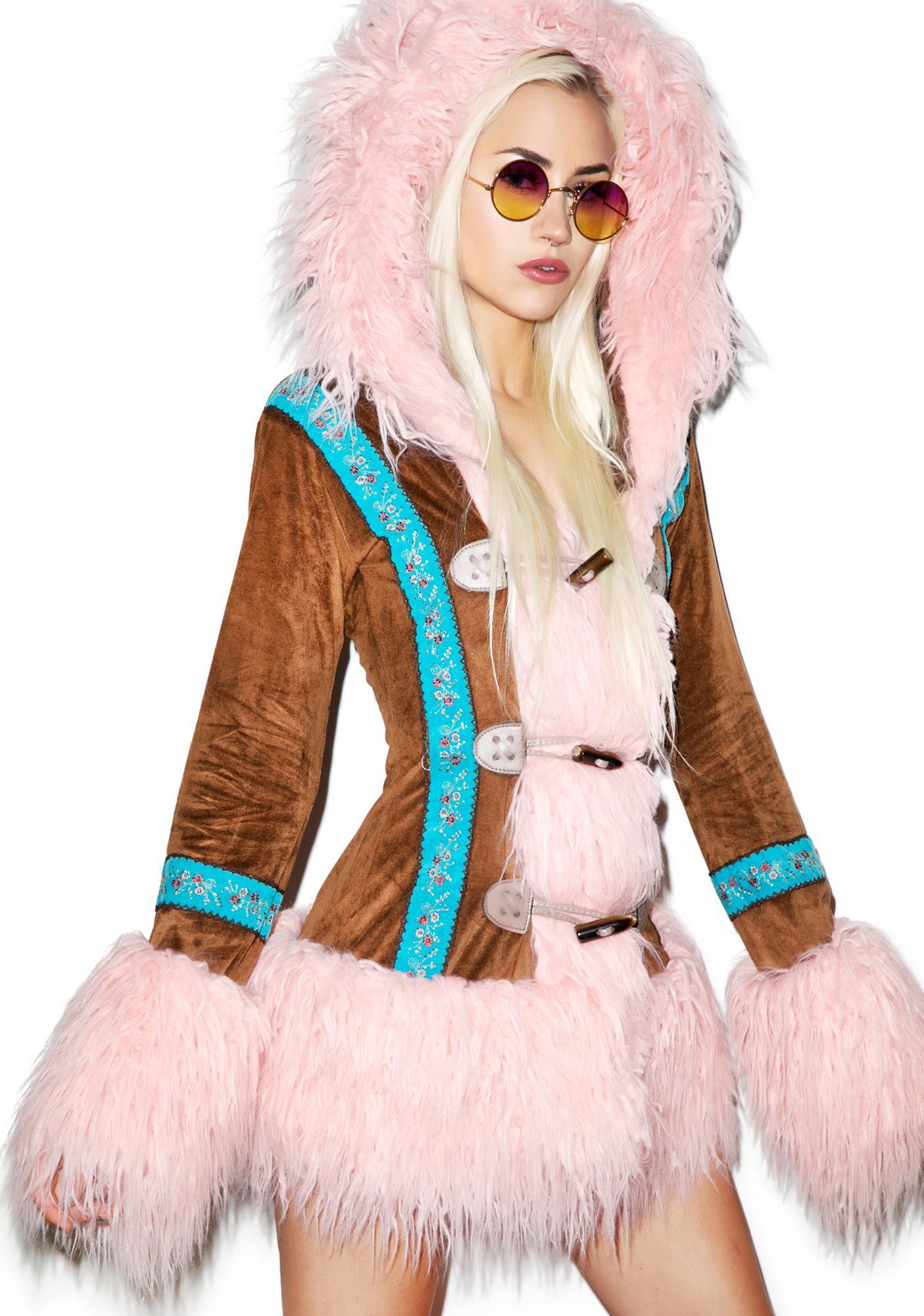 J Valentine Eskimo Kisses Mohair Jacket