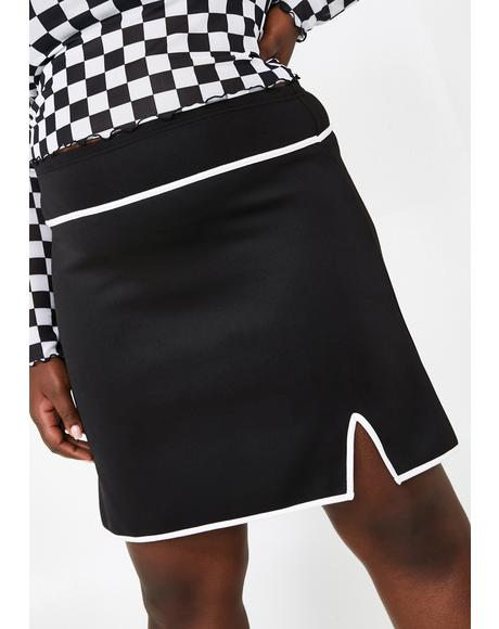Sassy Miss Thing Mini Skirt