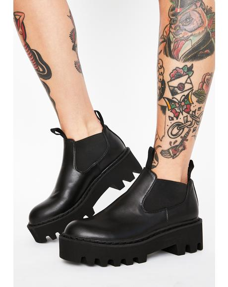 Happy Days Platform Boots
