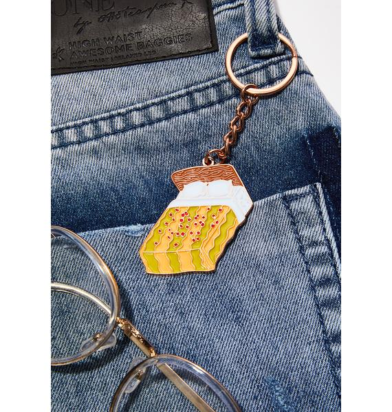 Rosehound Apparel Motel Bed Keychain