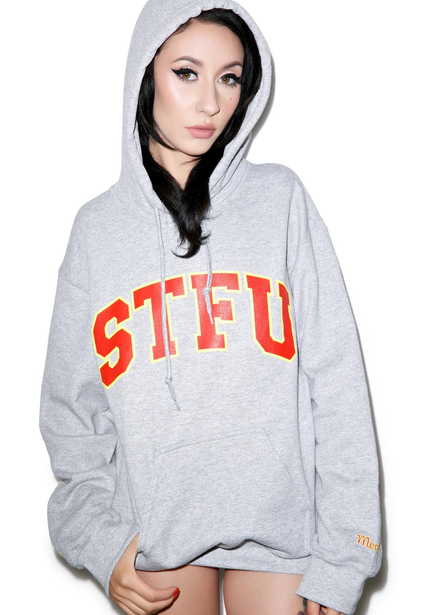 United Couture STFU Mookee Boy Hoodie
