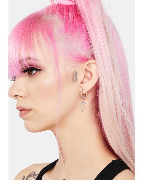 Essential Cross Earrings