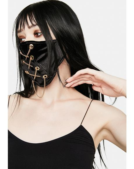 Entanglements Chain Face Mask