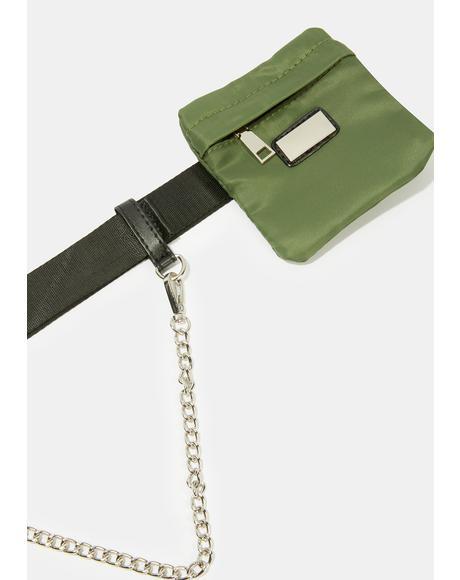 Hardcore Hustlin Chain Belt