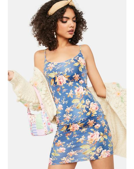 In My Prime Floral Bodycon Dress