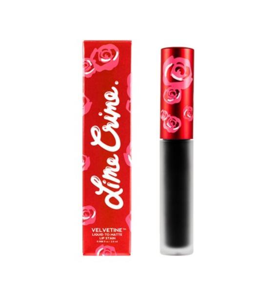 Lime Crime Black Velvet Velvetine Liquid Lipstick