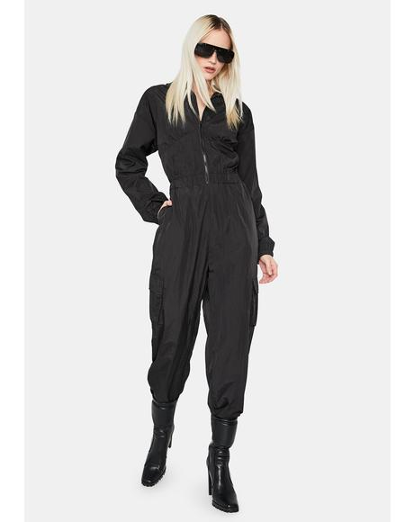 It's Over Long Sleeve Jumpsuit
