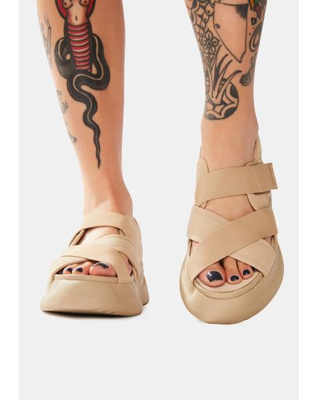 Off White Essy Platform Sandals
