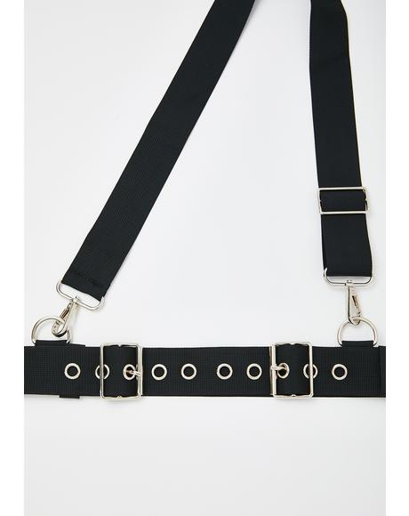Harsh Agenda Crossbody Belt