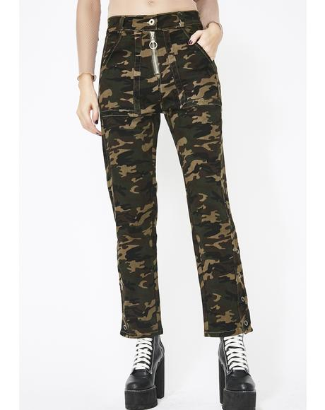 On A Mission Camo Pants
