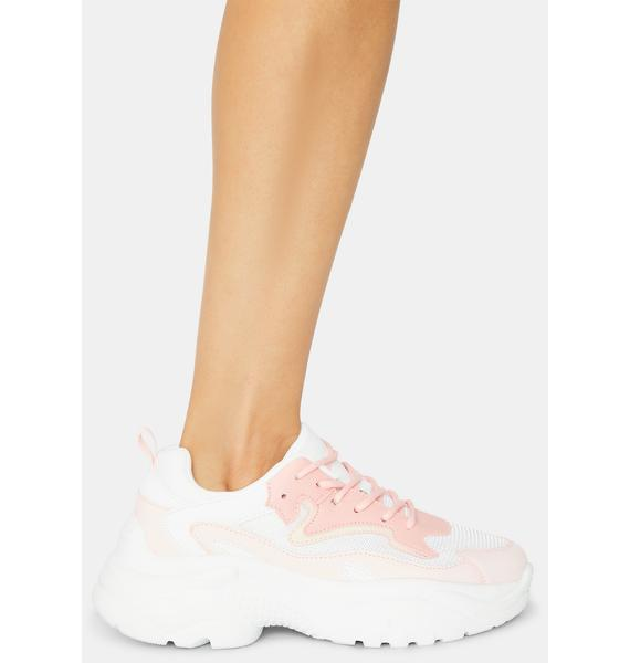 Step My Game Up Chunky Sneakers