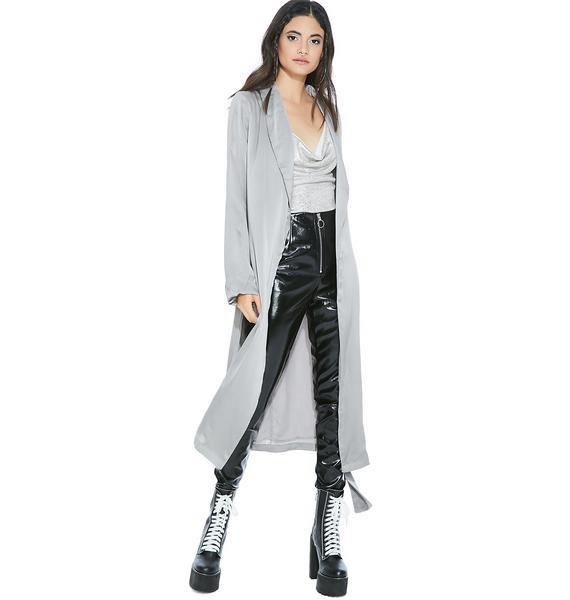 Silver Lining Trench Coat