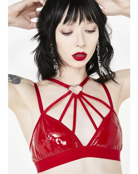 Spicy Love Bitez Harness Bra