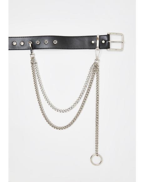 Rockin' It Chain Belt
