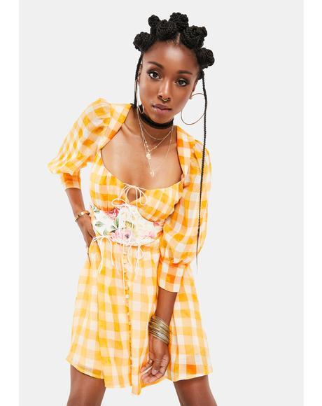 Mimosa Corset Dress