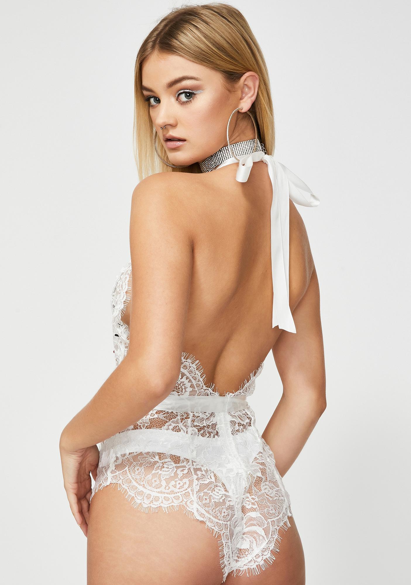 Oh la la Cheri Angel Very Good Night Lace Teddy