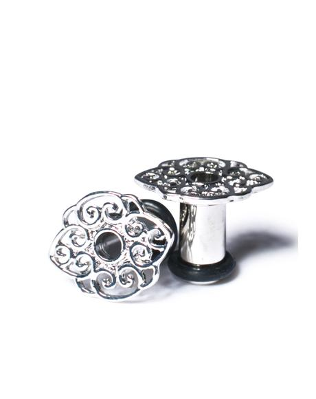 Lotus Filigree Gauged Plugs