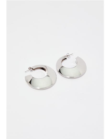 Mind Changer Hoop Earrings