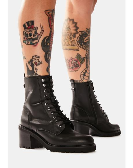 Brandt Lace Up Ankle Boots
