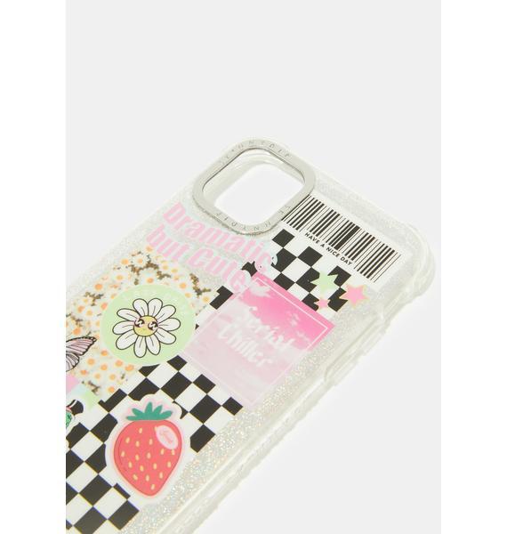 Skinnydip Stickered iPhone Case