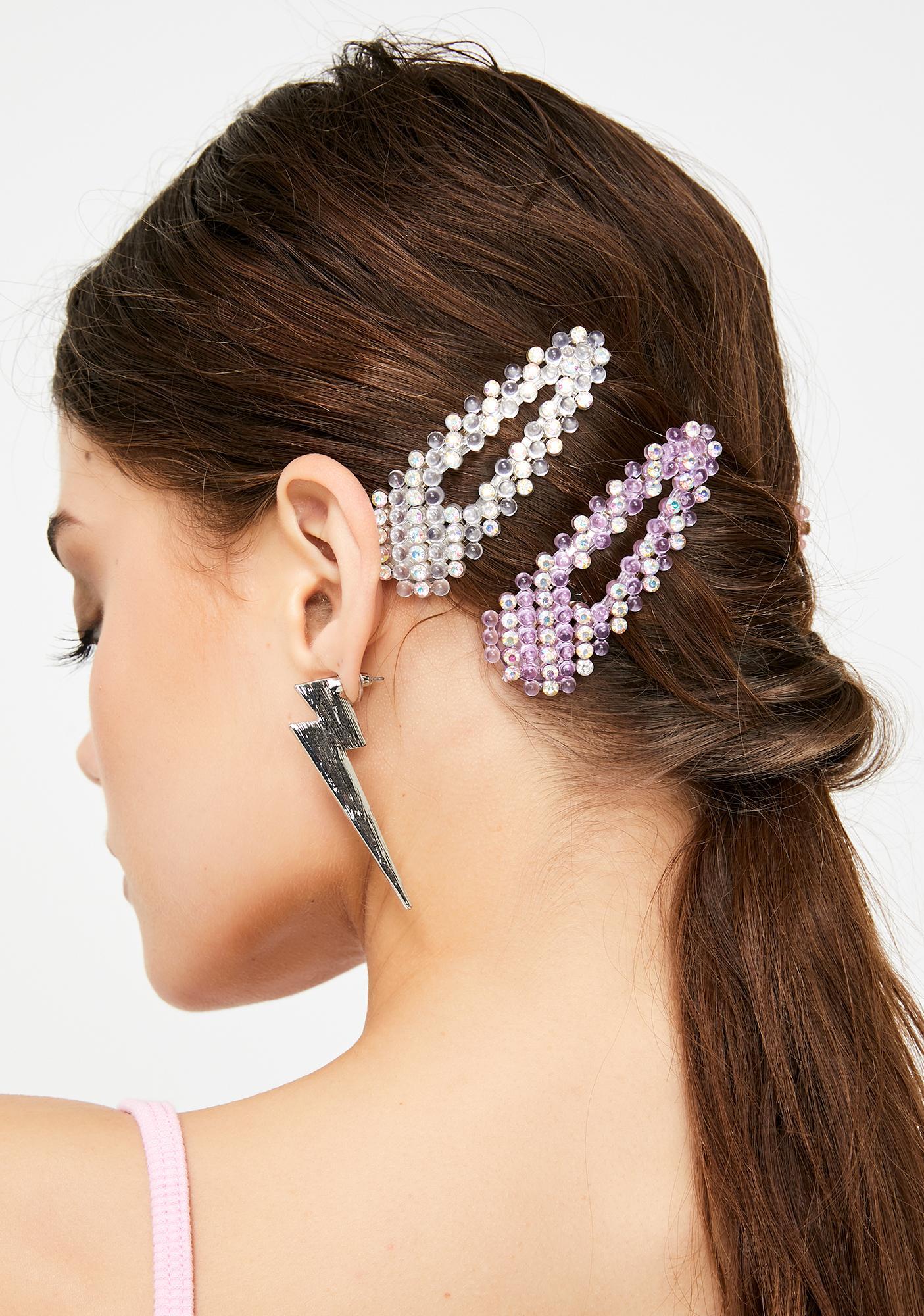 Pastel Pixie Hair Clip Set