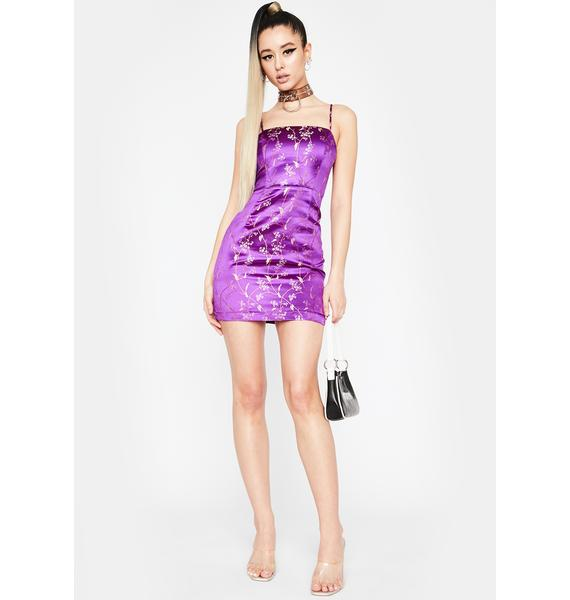Purp Forever Fate Mini Dress