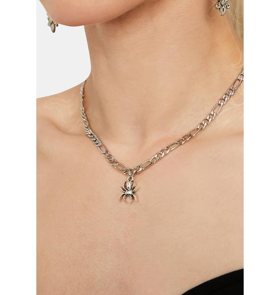 Spider Secret Chain Necklace