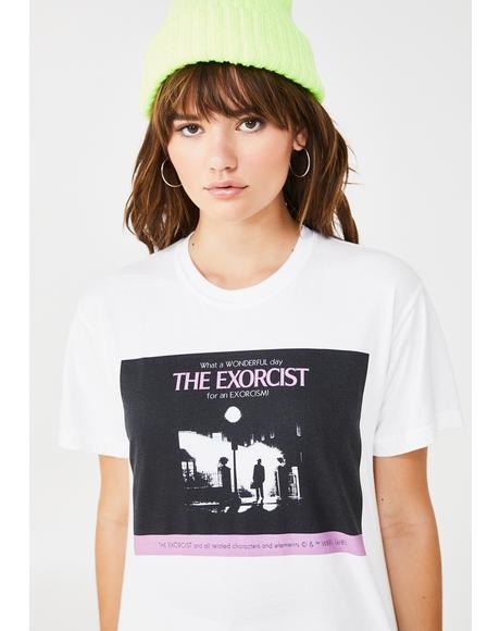 The Exorcist Wonderful Day Graphic Tee