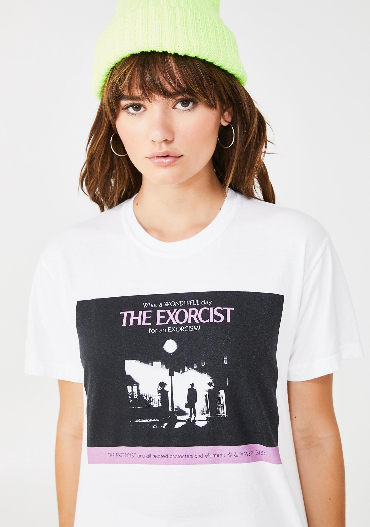 Dumbgood The Exorcist Wonderful Day Graphic Tee