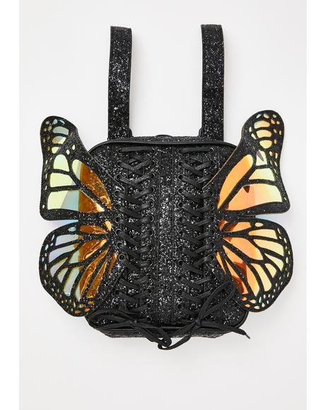 Metamorphic Glitter Backpack