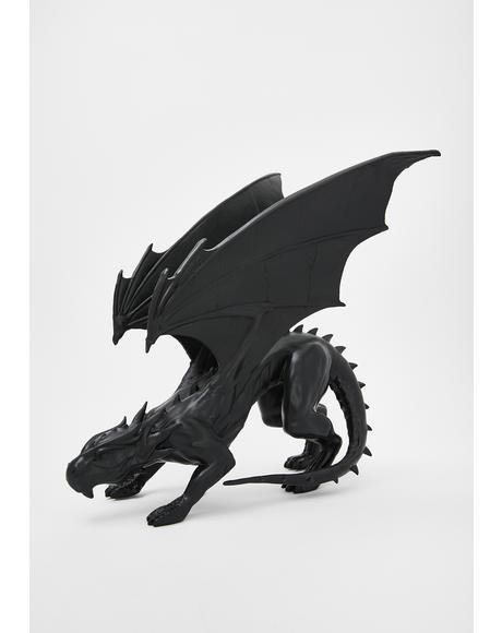 Draco Resin Dragon Statue
