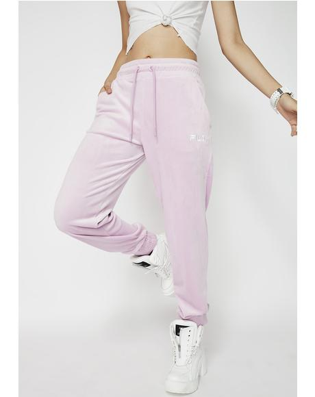 Olympia Velour Joggers