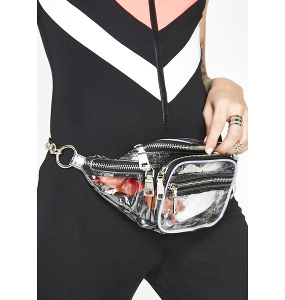 Fill Me Up Clear Fanny Pack