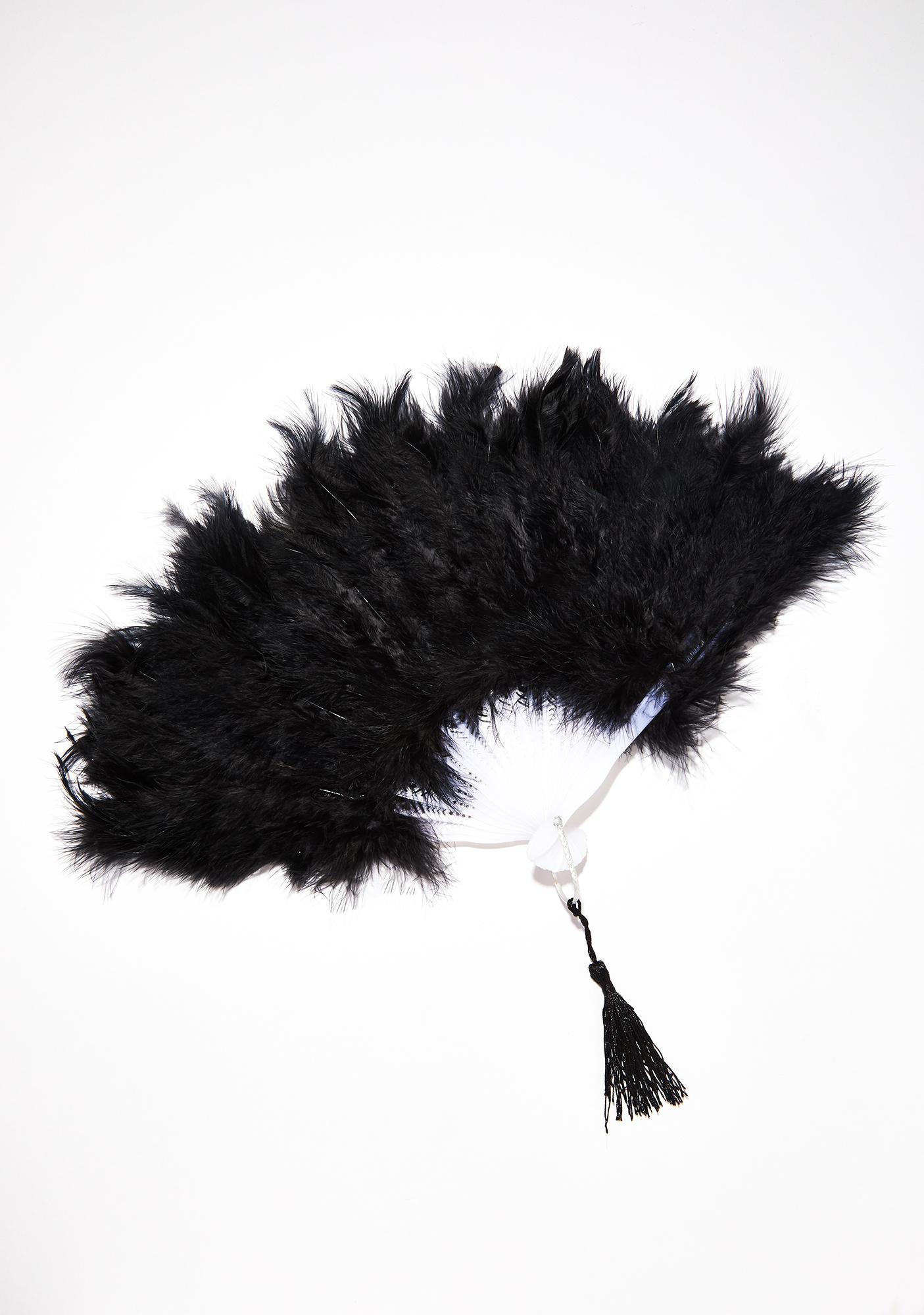 Raven Fancy Tendency Marabou Fan